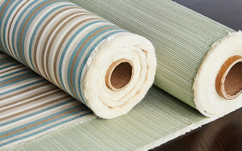 Own Fabric Roman Blinds