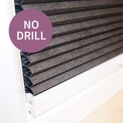 No Drill Blinds