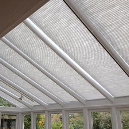 Conservatory Roof Duette Blinds