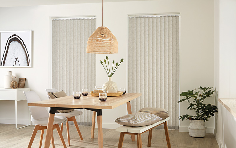 Free Hanging Vertical Blinds