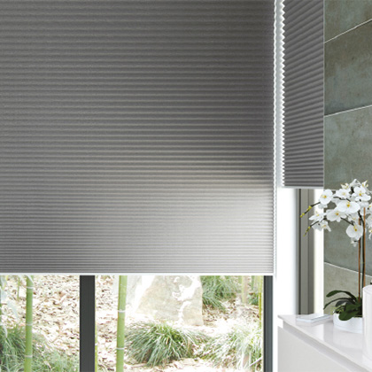 Blackout Pleated Blinds