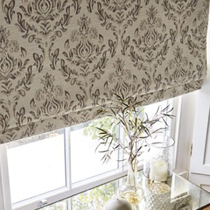 Aquarius Roman Blinds