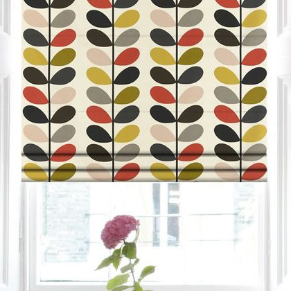 Orla Kiely Roman Blinds