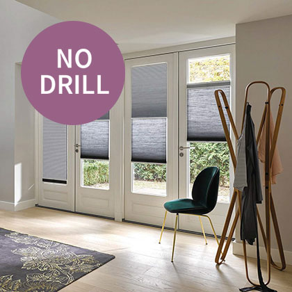 No Drill Thermal Blinds